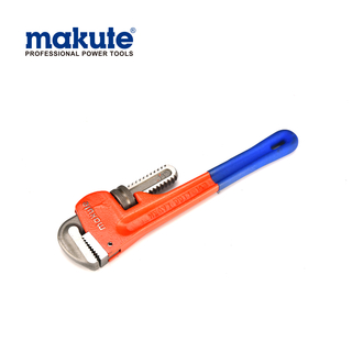 "PIPE Wrench 10""(250mm) stilson wrench without dipped handle Heavy Duty Pipe Fitting Ridgid Type Wrench"
