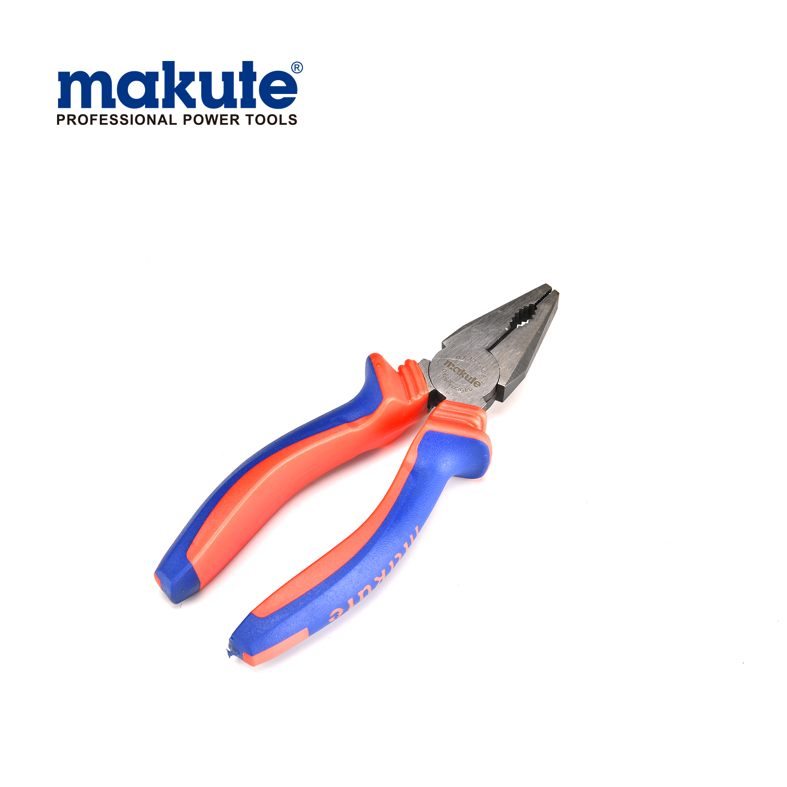 "Combination pliers 8""/200mm with TPR handle"